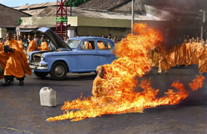In Terrifying Color: Vietnamese Buddhist Monk's 1963 Self-Immolation