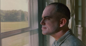 Sling Blade - Karl once again looking out of the window of the mental ...