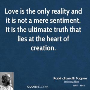 Rabindranath Tagore Quotes Love