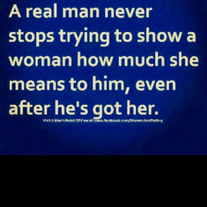 Never Take Woman For Granted