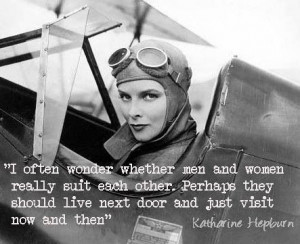 Men and Women, Katherine Hepburn
