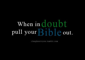 When in doubt, pull your BIBLE out! @christovereverything christ god ...