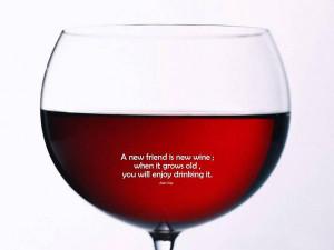 New Friend Is New Wine