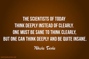 Nikola Tesla Quotes On Life By nikola tesla quotes
