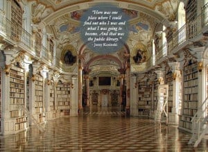 15 wonderful quotes about libraries… in libraries (pictures)
