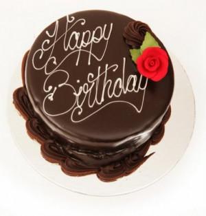 Chocolate Birthday Cake 005