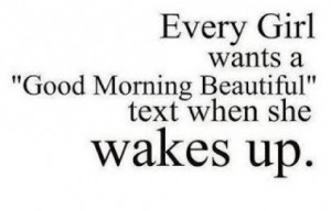 Cute Good Morning Texts for Her