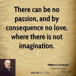 William Godwin Imagination Quotes