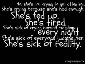 depression quotes for teenage girls tumblr