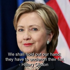 Hillary clinton quotes and sayings meaningful inspiring witty