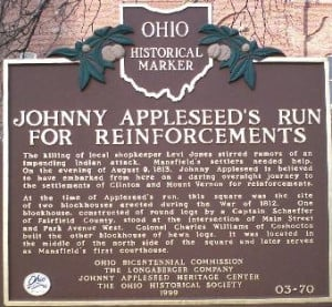 Johnny Appleseed stated: