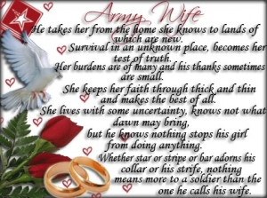 military wife poem given to me soldier wife quote army wife quote