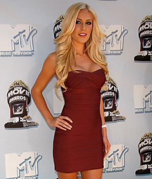 Heidi Montag, The Hills star, who describes herself as