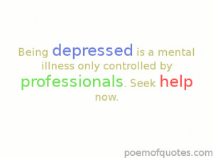 quotes about being depressed and suicidal