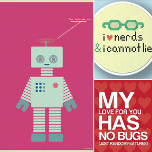 Nerd and Geek Love Prints and Gifts