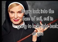 ... Horror Story Jessica Lange Quotes Jessica lange as sister jude