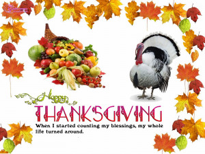 Thanksgiving Day Wishes Quote and Card With Beautiful HD Wallpapers ...