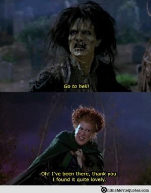 ... Midler and Sarah Jessica Parker star in the 1993 film Hocus Pocus