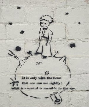 quote from Antoine de Saint-Exupéry's The Little Prince, complete ...