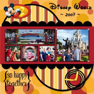 Disney World ~*~
