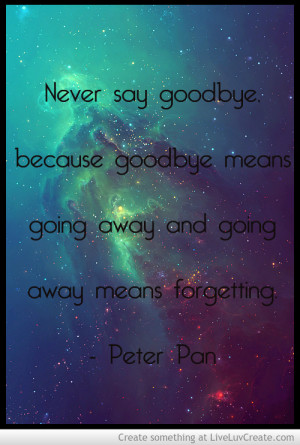 cute, disney, love, peter pan quote, pretty, quote, quotes
