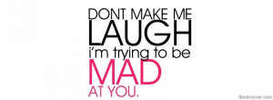 Download Quote facebook cover, 'Trying to be mad facebook photo cover ...