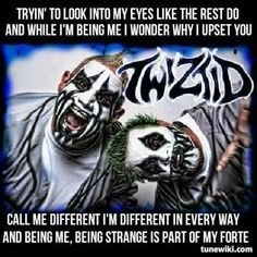 ... quotes muzik music scared juggalette quotes scared people juggalette