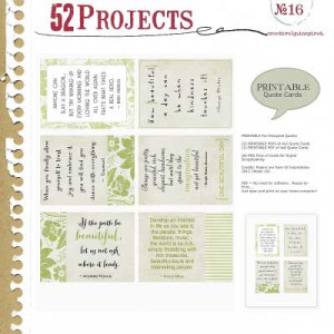 printable pre designed quote cards 2 pdf ready to print