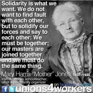 Women's History Month: Honoring the Legacies of Mother Jones and ...