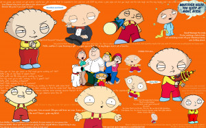 Family Guy Stewie Wallpaper w/quotes