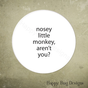 does it around as they rat on being nosey nosey