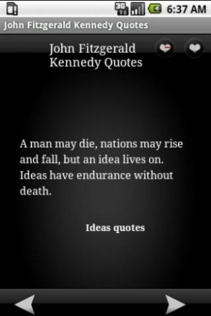 View bigger - John Fitzgerald Kennedy Quotes for Android screenshot