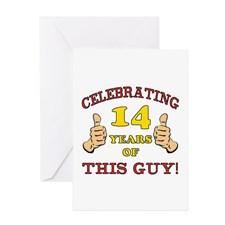 Funny 18th Birthday For Boys Greeting Card
