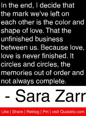 ... out of order and not always complete sara zarr # quotes # quotations