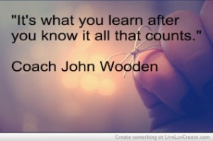 Inspiration Coach John Wooden