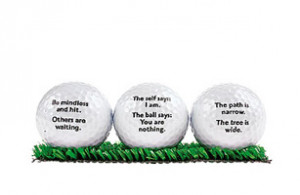 Golf Quotes About Life Sayings