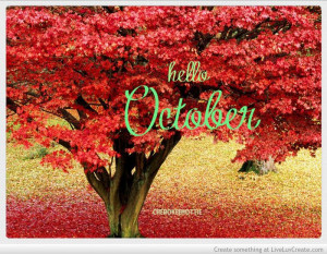 hello October by: Dolly Key
