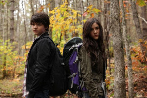 Joel Courtney and Isabelle Fuhrman