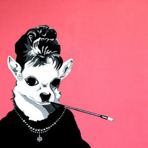 original chihuahua artwork | chihuahua portraits of classic famous ...
