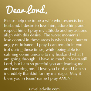 Husband Respect Your Wife Quotes ~ Husband Wife on Pinterest