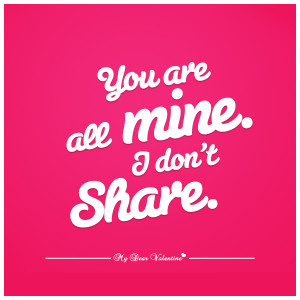You Are Mine Quotes