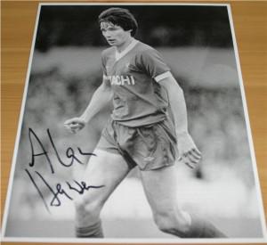 Alan Bates Autograph Signed...