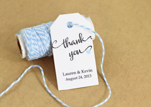Bridal Shower Favor Tag Wedding Gift Tag by WeddingAmbience, $11.25