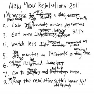 New Year Resolutions 2014 Funny New year 2014 resolution?