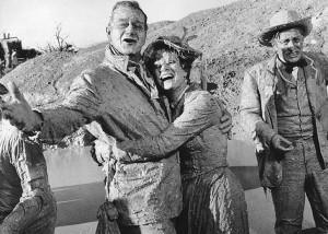 John Wayne McLintock! Maureen & John