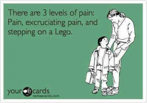 Funny quotes – There are 3 levels of pain