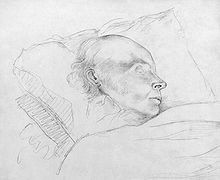 john quincy adams during his final hours of life after his collapse in ...