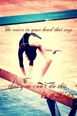 Gymnastics Beam Quotes