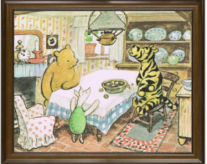 Storybook Prints, Classic Winnie the Pooh, Pooh and Friends, Tigger ...