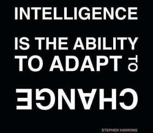 ... is the ability to adapt to change.
